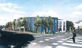 L'ensemble immobilier Accueil immobilier (projet amendé)